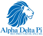 Alpha Delta Pi Sorority | E-Stores by Zome